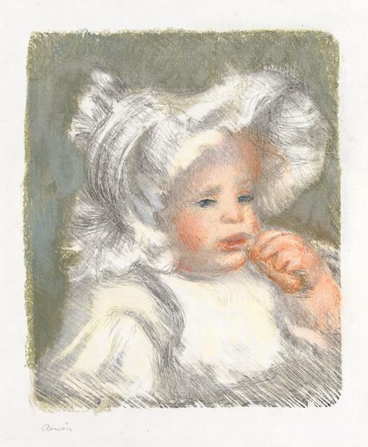 , 'L'ENFANT AU BISCUIT (JEAN RENOIR),' 1898, Galerie d'Orsay