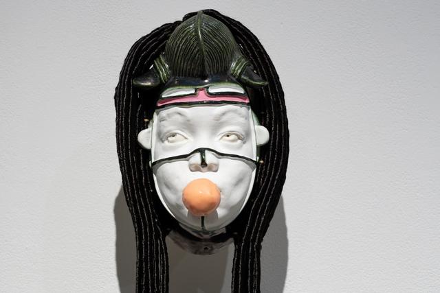 Eddy Firmin dit Ano, 'Signe émotionnel Femme/Fierté/Pilier', 2019, Art Mûr
