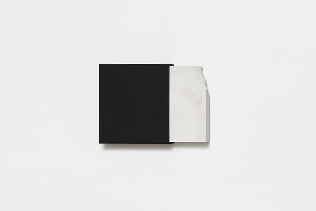 Fernanda Fragateiro, 'Demolition (archive)', 2019, Sculpture, Manufactured archive folder with fabric covers and masonry fragment from demolition, Josée Bienvenu