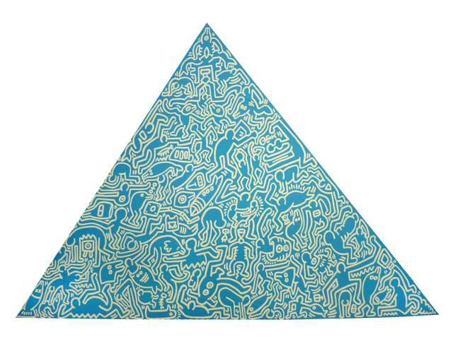 , 'Pyramid (Blue),' 1989, Long-Sharp Gallery