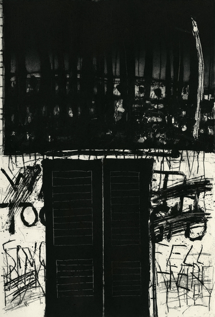 Marcus Rees Roberts, 'Snow Fell V', 2018, Print, Etching and Aquatint, Pratt Contemporary