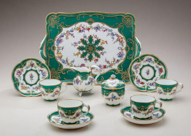 , 'Tea service (déjeuner Courteille),' 1759, Michele Beiny Inc.