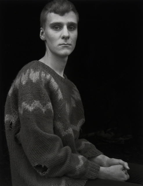 , 'Arnar in the Borrowed Sweater,Djúpivogur,!celand,' 2015, Vision Neil Folberg Gallery