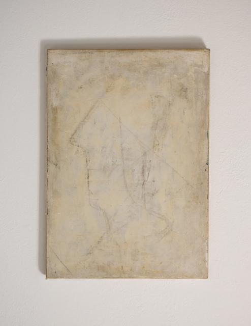 , 'weibliches profil in weiß,' after 1945, Edition & Galerie Hoffmann