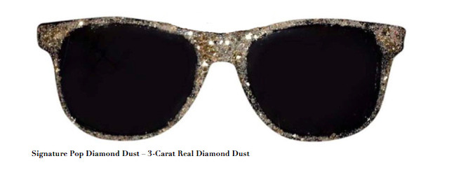 , 'Signature Pop Diamond Dust – 3 CT Real Diamond Dust, Mixed Media,' , ART CAPSUL