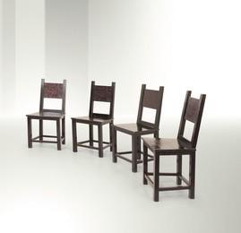 four armchairs, Italy