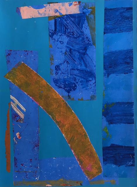 , 'Be Bop On Blue,' 2018, Gagné Contemporary