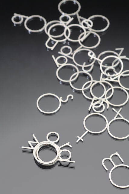 , 'Letters Form Words,' , Facèré Jewelry Art Gallery