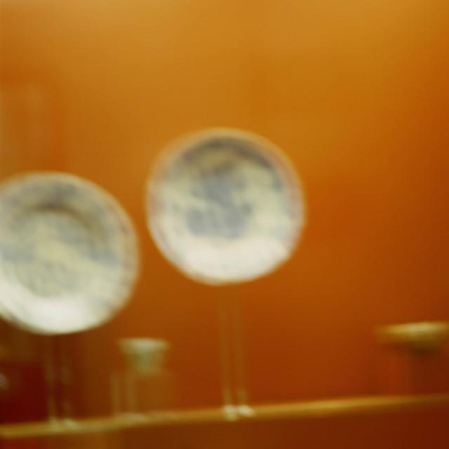 , 'Orange Ground With Plate,' 2002, Galerie Anne-Sarah Bénichou