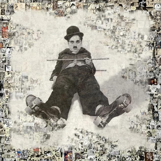 , 'Charlie Chaplin,' 2017, Eden Fine Art