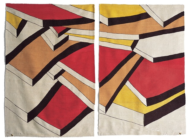 , 'Layers/Diptych - Katmanlar/Diptik,' 1995, Anna Laudel