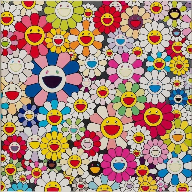 Takashi Murakami, 'Such Cute Flowers', 2011, Toshkova Fine Art Advisory