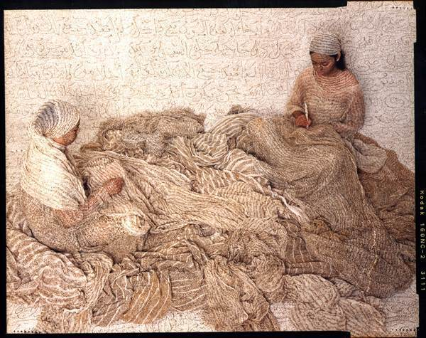 Lalla Essaydi, 'Les Femmes du Maroc- Harem Women Writing', 2008, Jenkins Johnson Gallery