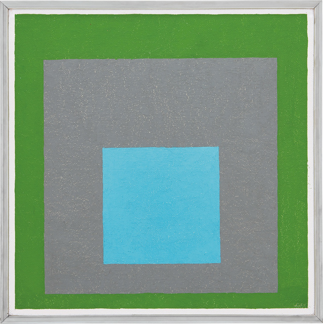 Josef Albers, 'Study to Homage to the Square - Looking Out', 1954, Phillips