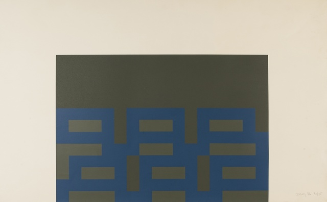 Robyn Denny (1930-2014), 'Suite 66 I', 1966, Print, Screenprint in colours, Forum Auctions