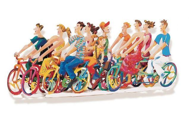 , 'Biking B,' 1997, Galerie Montmartre