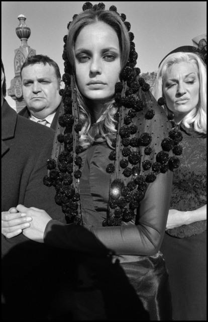 , 'Mafia Funeral. Fashion Shoot, Queens, New York,' 2005, Magnum Photos