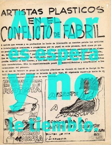 , '1968, por el culo te la entocho,' , Galería Bacelos