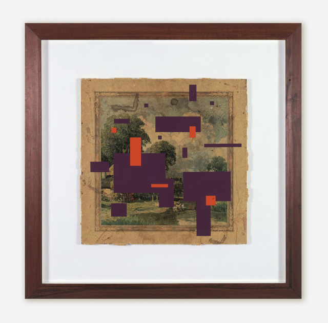 , 'Constructivist Layers on Found Surface,' 2004, Quint Gallery
