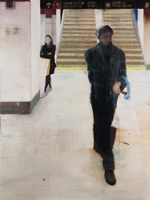 , 'Grand Central Station, 4-5pm (Waiting #177),' 2013, Jonathan LeVine Projects