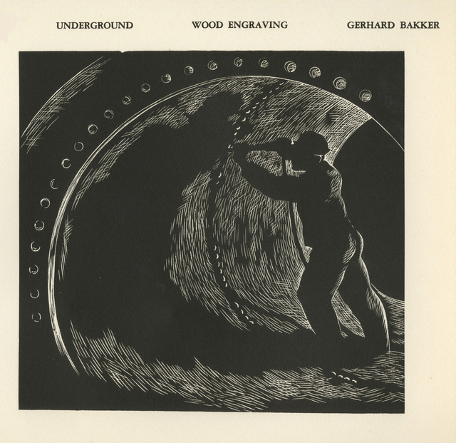 Gerhardt H. Bakker, 'Underground', 1937, David Barnett Gallery