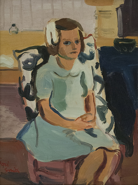 , 'Francine,' 1941, Canadian Fine Arts