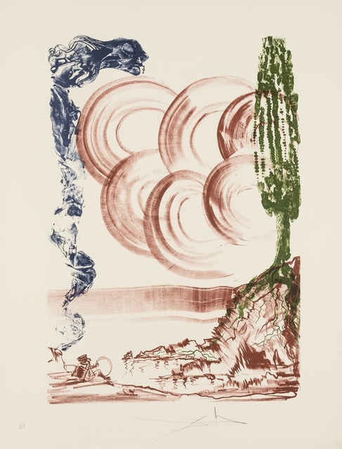 Salvador Dalí, 'Atomo (Field 73-5)', 1973, Print, Lithograph printed in colours, Forum Auctions