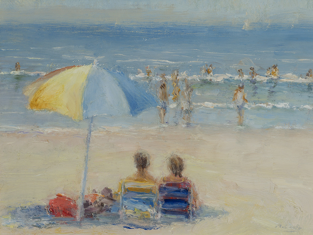 , 'Beach Day in July,' 2016, Rehs Contemporary Galleries