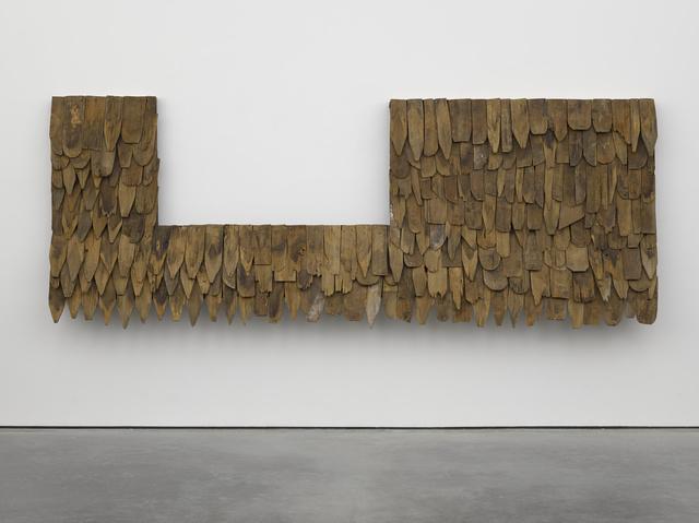 , 'Tiki teak,' 2014, White Cube