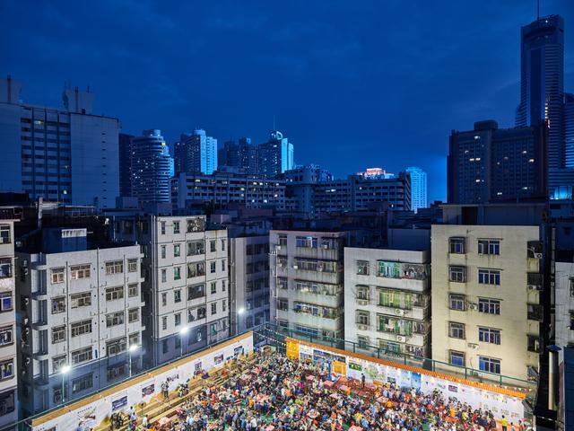 , 'Shenzhen Night #2,' 2017, Galerie Fontana