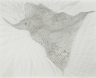 Alyson Shotz, 'Untitled (Thread Drawing),' 2010, Sotheby's: Contemporary Art Day Auction