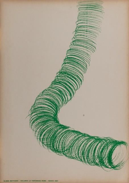 Eliseo Mattiacci, 'Solo exhibition', 1967, Finarte