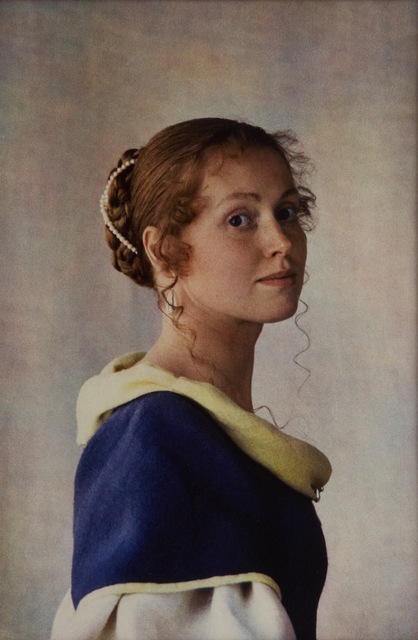 , 'Portrait of Evelyne, after Vermeer,' 1981, Vision Neil Folberg Gallery