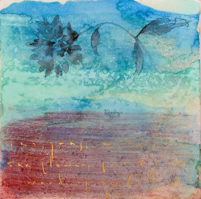 , 'Peony - Isaish 40:8,' 2014, Galerie Huit
