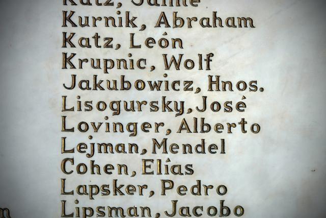 , 'Names of Beth Shalom congregants,' 2015, Anastasia Photo