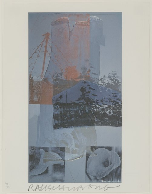 Robert Rauschenberg, 'Tanya's Veil (Whale)', 1992, Heritage Auctions