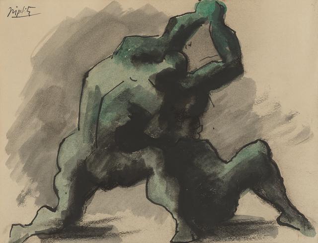 Jacques Lipchitz, 'Wrestlers', 1930-1945, Glenn Allen Art