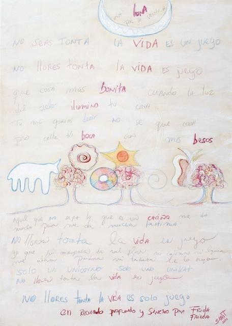 Sarit Lichtenstein, 'To Frida', 2010, Galerie AM PARK