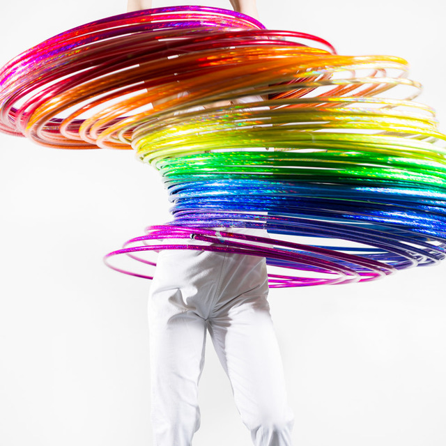 Frances F. Denny, 'Rainbow Hula', 2015, ClampArt