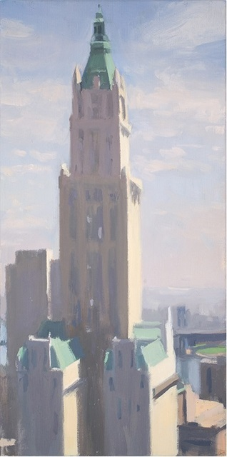 Diana Horowitz, 'Woolworth, Summer  Day', 2007, Painting, Oil on Linen, The Schoolhouse Gallery