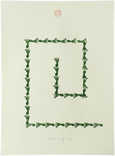 Richard Long, 'Untitled (from Artists Against Torture portfolio)', 2003, Kunzt Gallery