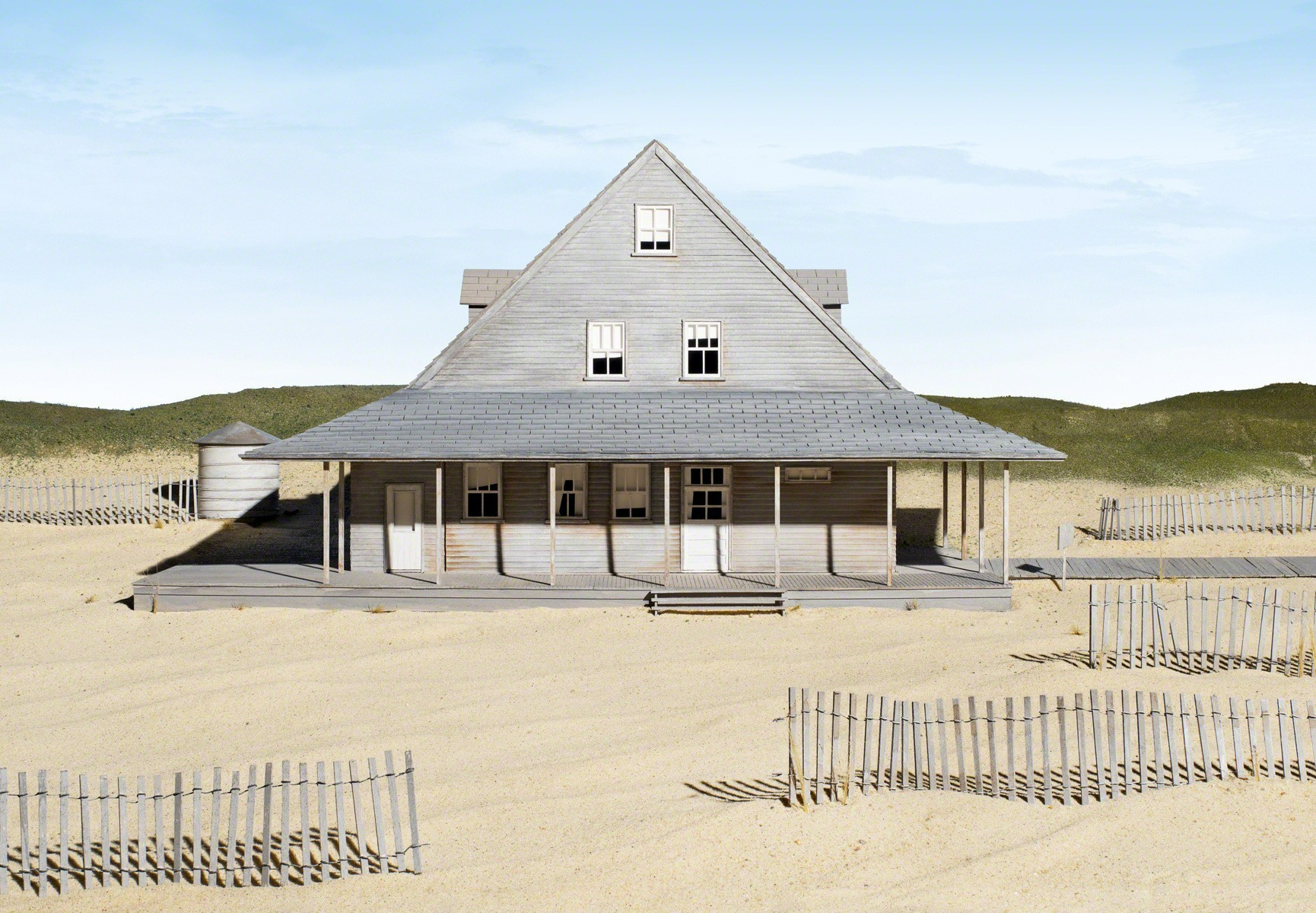 , 'Caffey's Inlet Lifesaving Station (Dare County, NC),' 2013, Sean Kelly Gallery