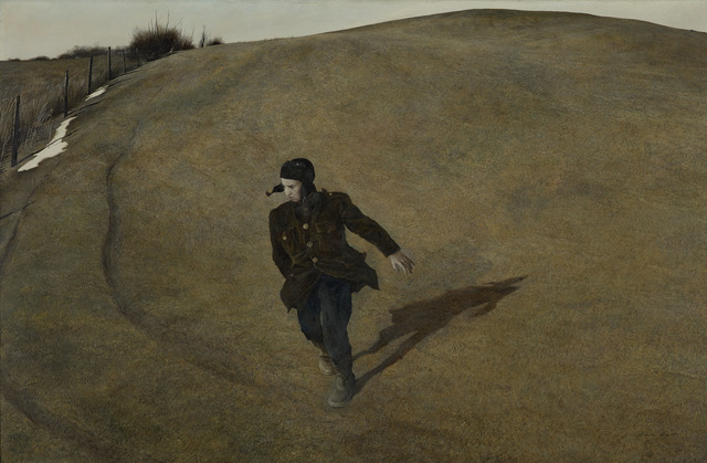 Andrew Wyeth, 'Winter', 1946, Seattle Art Museum