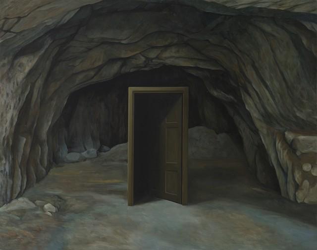 , 'A door in the Cave,' 2017, Aye Gallery