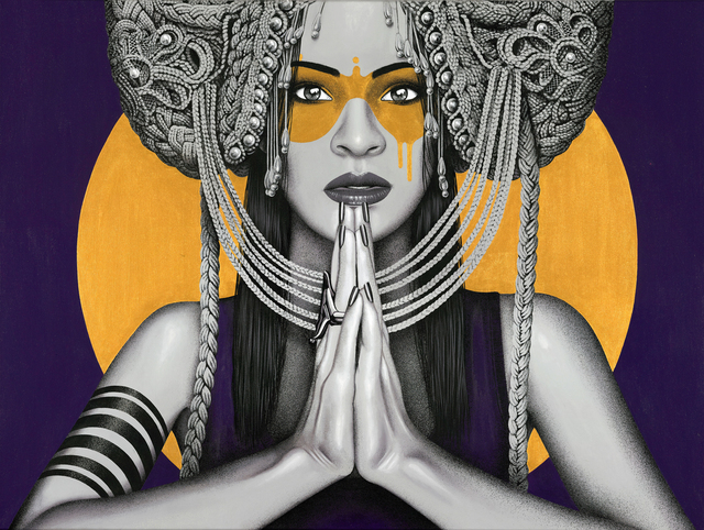, 'Sun Goddess (part of collaboration with Kevin Ledo),' 2018, Jewel Goodby Contemporary