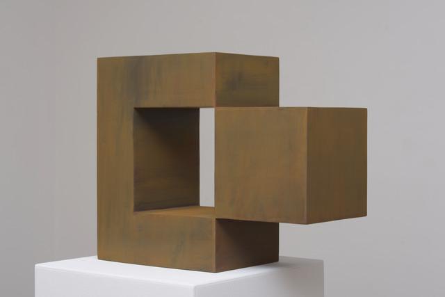 Stephan Siebers, 'ISOLATED CUBE', 2018, Sculpture, Cor-ten steel, Galerie Floss & Schultz