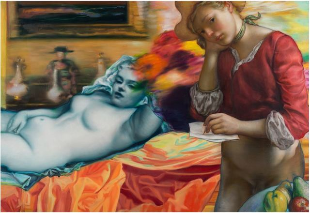 , 'Blue Marilyn,' 2016, Jonathan LeVine Projects