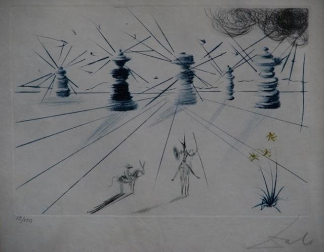 Salvador Dalí, 'Don Quichotte et les Moulins a vent ', 1969, Fine Art Acquisitions