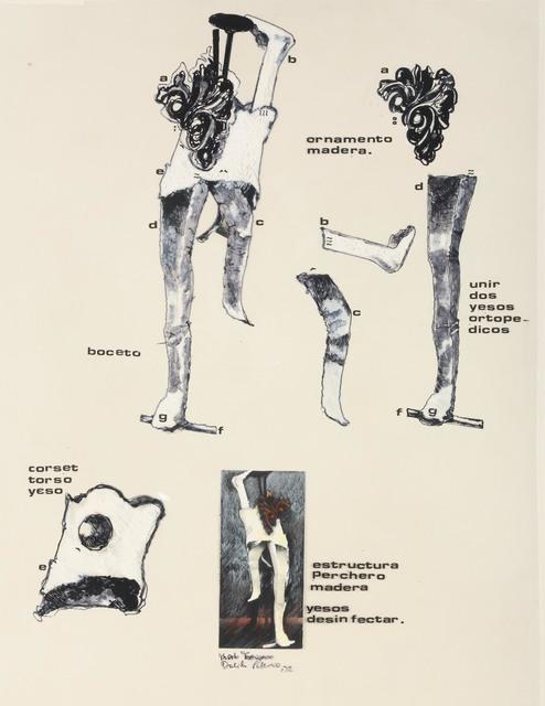 , 'Estructura perchero de madera ,' 1973, Rolf Art