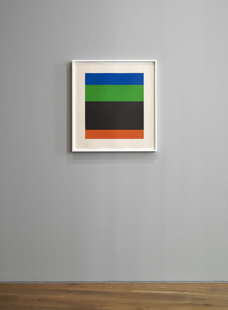 , 'Blue Green Black Red,' 1971, Ingleby Gallery